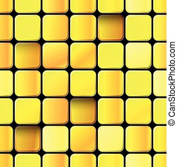 Abstract seamless background of different blocks.