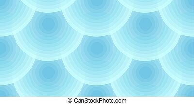 Abstract seamless background of round discs with gradient fills.