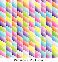 Abstract seamless background pattern with rhomboids. -...