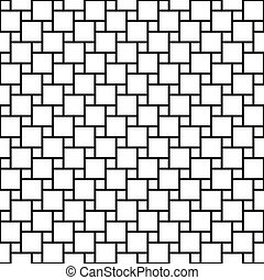 Abstract seamless background pattern with squares.