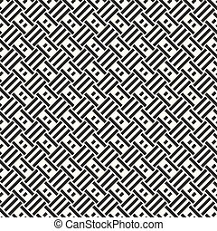 abstract seamless background with monochrome quadrangles