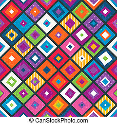 Abstract seamless background with squares.
