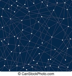 Abstract seamless background with stars.