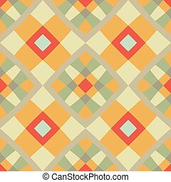 Abstract seamless colorful geometric vector pattern.