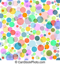 Abstract seamless colorful pattern - Abstract seamless white...