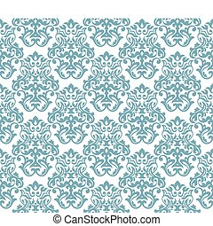 seamless damask background - abstract seamless damask...