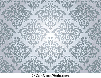 seamless damask wallpaper - abstract seamless damask...