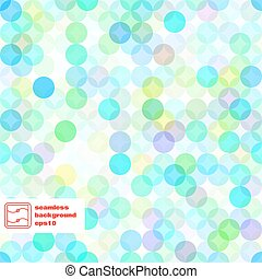 Abstract Seamless Dots Pattern. Vector