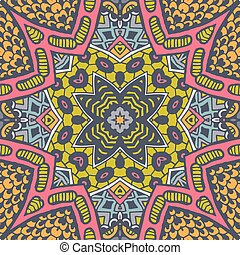 Abstract Seamless Festive pattern background