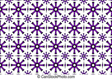 Abstract seamless geometric pattern on a white background