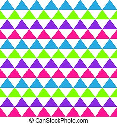 Abstract seamless geometric pattern with colored triangles. Background for wallpaper design template