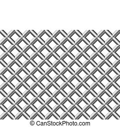 Abstract seamless geometrical patte - Net tubular abstract...