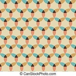 Abstract seamless geometrical pattern