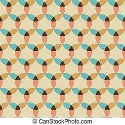 Abstract seamless geometrical pattern