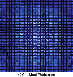Abstract seamless mosaic backgroun