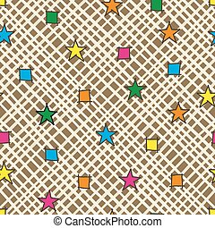 Abstract seamless pattern background.
