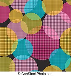 Abstract Seamless Pattern Background Vector Illustration.