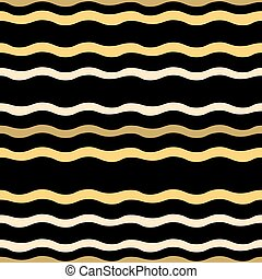 Abstract seamless pattern from waves