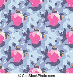 abstract seamless pattern graffiti gentle color