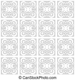 Abstract seamless pattern in a classic style.