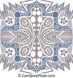 Abstract seamless pattern in ethnic style.
