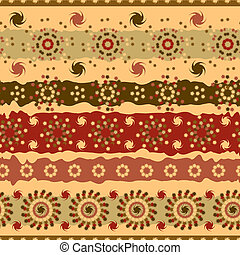 Abstract seamless pattern of brown
