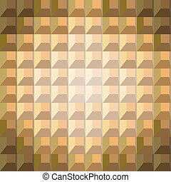 Abstract seamless pattern of colored blocks