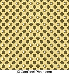 Abstract seamless pattern of colored circles