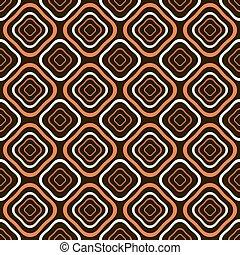 Abstract seamless pattern of diamond shaped geometric figures