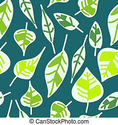 abstract seamless pattern of green