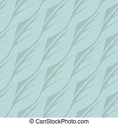 Abstract seamless pattern of leaves. Vector illustration