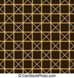 Abstract seamless pattern of intersecting lines
