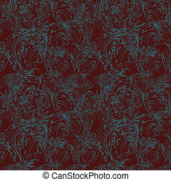 Abstract seamless pattern on maroon