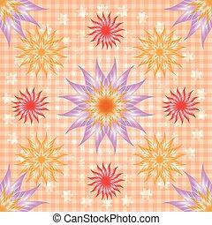 Abstract seamless pattern ornament. Mandala repeat pattern. Vintage background. Seamless pattern.
