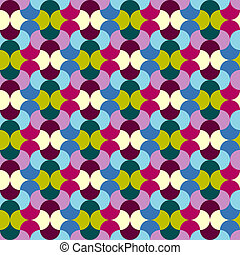 Abstract seamless pattern (vector)