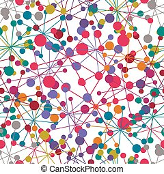 Abstract seamless pattern, vector