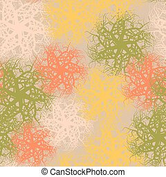 Abstract seamless pattern. Vector flat style illustration