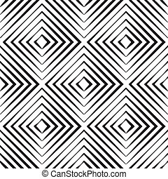 Abstract Seamless Pattern with Rhombus - Abstract seamless...