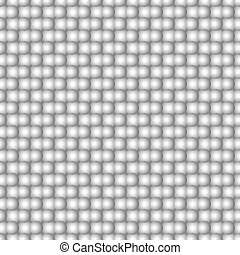 Abstract seamless spheres pattern