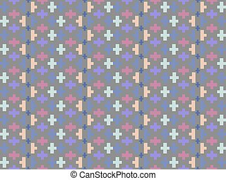 Abstract seamless textile pattern