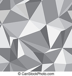 Abstract seamless texture - gray background of the polygons vector eps8