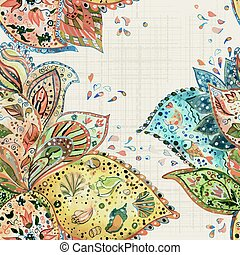 abstract seamless texture watercolor. vector illustration