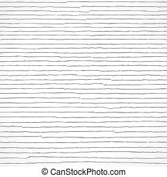 Abstract seamless uneven stripes repeat vector pattern. Free hand drawn horizontal lines