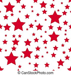 Abstract seamless wallpaper with stars pink and white background Texture Vector illustration