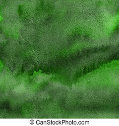 watercolor background in green