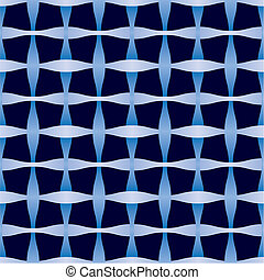 Abstract seamless weaving pattern