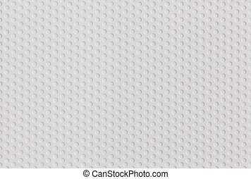 abstract seamless white plastic pattern of hexagonal grid of circles