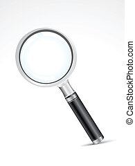 abstract search icon vector