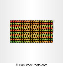 abstract seasonal leaves banner background design
