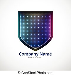 ecure shield logo design